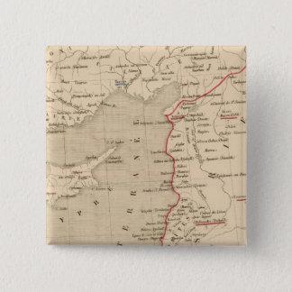 Syrie et de la Palestine, 624 ans apres JC Pinback Button