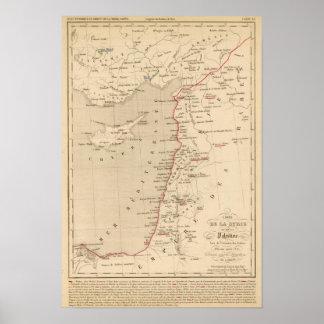 Syrie et de la Palestine, 624 ans apres JC Poster