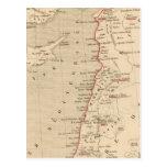 Syrie y la Palestina, 624 apres JC del de la Postales