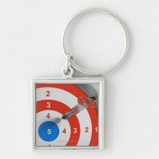 Syringe Dart Keychain