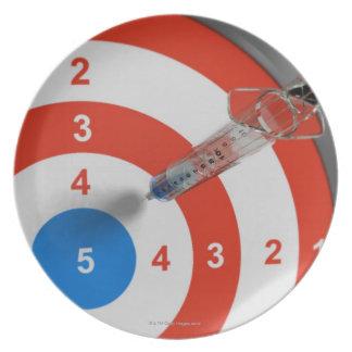 Syringe Dart Plates