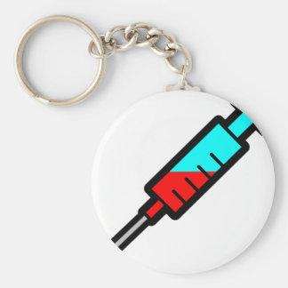 Syringe Keychain