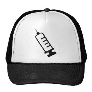 syringe trucker hat