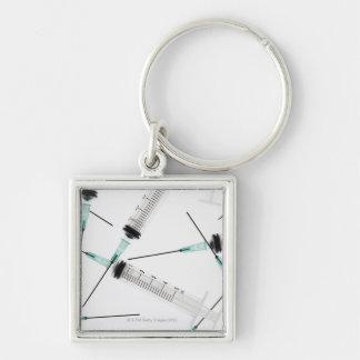 Syringes Keychain