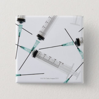 Syringes Pinback Button