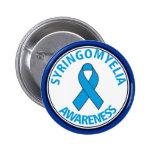 Syringomyelia Awareness Ribbon Button
