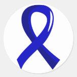Syringomyelia Blue Ribbon 3 Stickers