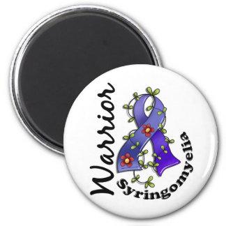 Syringomyelia Warrior 15 2 Inch Round Magnet