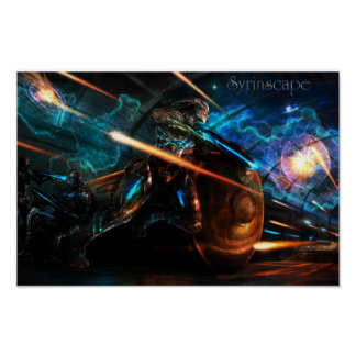 Syrinscape Blaster Battle SoundSet Poster