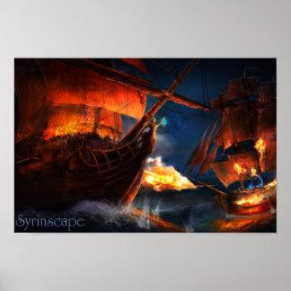 Syrinscape High Seas Battle SoundSet Poster