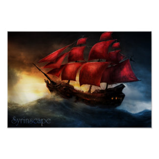 Syrinscape High Seas SoundSet Poster