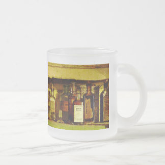 Syrup of Ipecac Frosted Glass Coffee Mug
