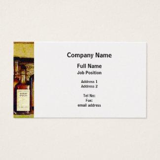 Syrup of Ipecac - Platinum Finish Business Card