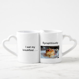Syruptitiously Breakfast Pun Mug
