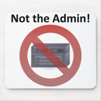 Sys Admin Mouse Pad