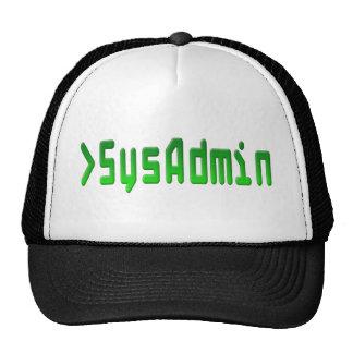 SysAdmin Gorras