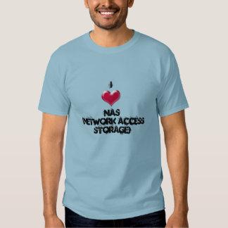 sysadmin i love NAS T-shirt