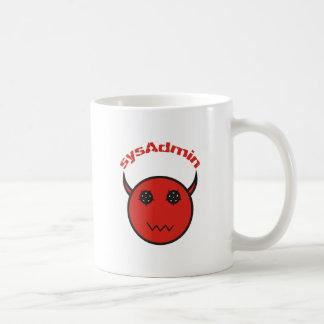 sysAdmin system administrator system administrator Coffee Mug