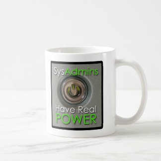 SysAdmins tiene poder real Taza De Café