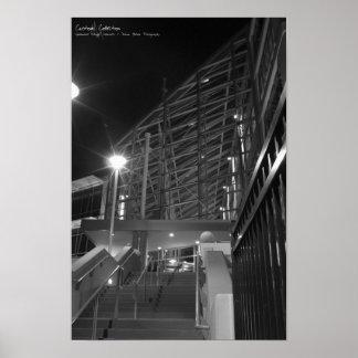 Sysbase Bulding Stairway Poster