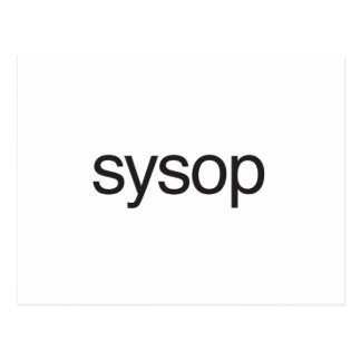sysop.ai postcard