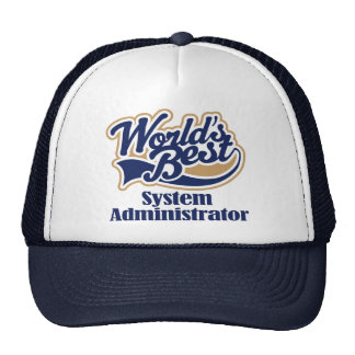 System Administrator Gift Mesh Hats