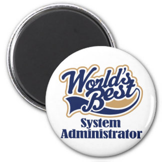 System Administrator Gift Refrigerator Magnets