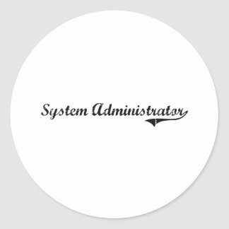 System Administrator Professional Job Stickers