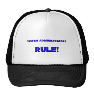 System Administrators Rule! Trucker Hat