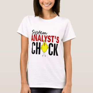 System Analyst's Chick T-Shirt