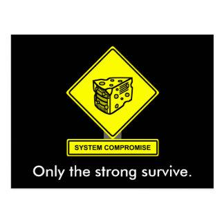 System Compromise Postcard