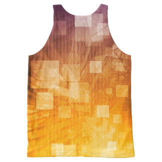 System Development Platform and Reporting Tool All-Over Print Tank Top