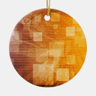 System Development Platform and Reporting Tool Ceramic Ornament