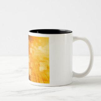 System Development Platform and Reporting Tool Two-Tone Coffee Mug