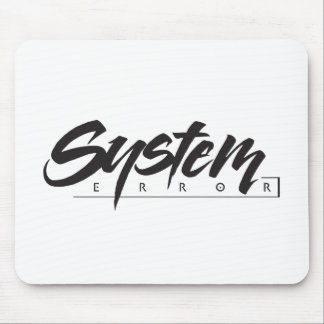 System Error Mouse Pad