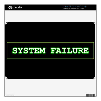 System Failure Skins For The MacBook Air