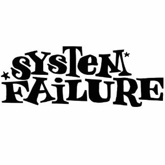 System Failure Standing Photo Sculpture