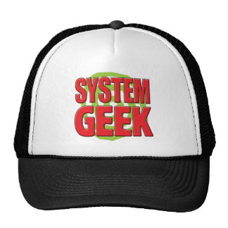 System Geek Trucker Hat