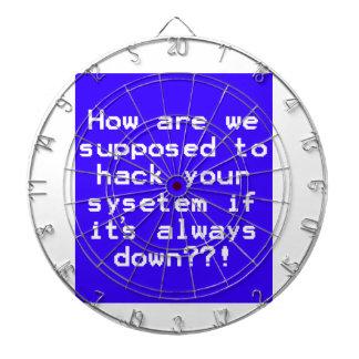 System hack joke dart boards