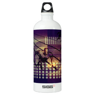 System Integration and Data Migration as a Concept Aluminum Water Bottle