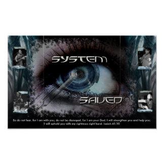 System Saved Poster