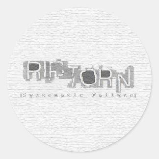 Systematic Failure Sticker