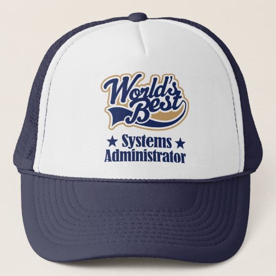 Systems Administrator Trucker Hat