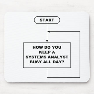 Systems Analyst Mousepad