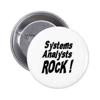 Systems Analysts Rock! Button