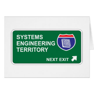 Systems Engineering Next Exit Card