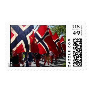 Syttende Mai, Norway Postage