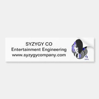 Syzygy Bumpersticker #1 Bumper Sticker