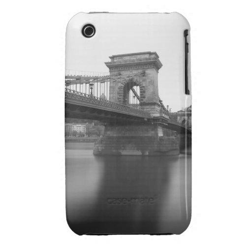 Szechenyi Chain Bridge and Danube iPhone 3 Case-Mate Case