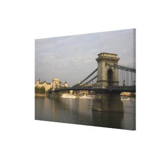 Szechenyi lanchid Szechenyi Chain Bridge), 2 Canvas Print